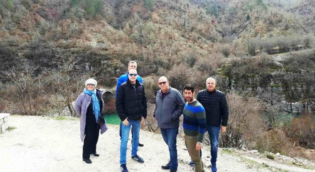 Πιο κοντά Ζαγόρι και Ισραήλ-επίσκεψη  αντιπροσωπείας του Δήμου Kiryat Ono