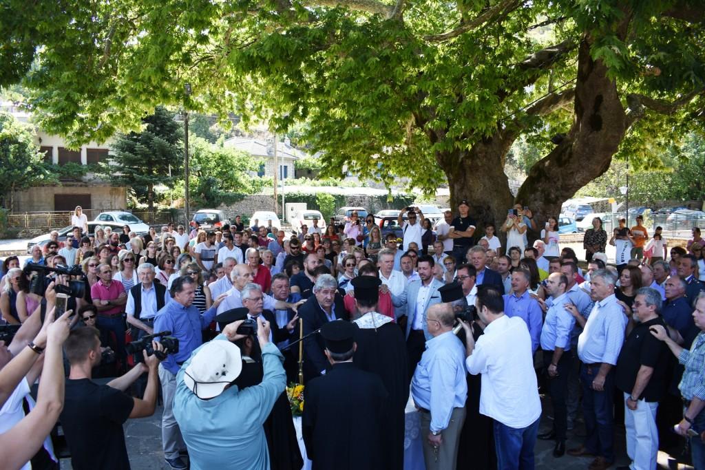Με ευχές και δεσμεύσεις η ορκωμοσία στο Δήμο Ζαγορίου